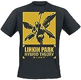 Linkin Park 20th Anniversary Hombre Camiseta Negro L, 100% algodón, Regular