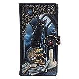 Nemesis Now Lisa Parker Spirits of Salem - Bolso con diseño de Calavera de Gato Negro (18,5 cm)
