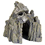 Pet Ting Adorno para decoración de Acuario, diseño de Calavera con Forma de Cueva para Mascotas