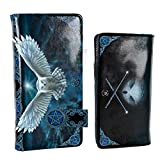 Nemesis Now Awaken Your Magic Anne Stokes - Bolso en Relieve (19 cm, PU, 18,5 cm), Color Azul