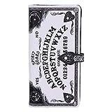 Nemesis Now White Spirit Board Ouija - Bolso con Relieve (18,5 cm)