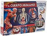 Clementoni-55089 - El cuerpo humano - juego científico a partir de 9 años