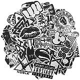 120 pegatinas de vinilo, diseño tipo graffiti, pegatinas auto, moto, coche, casco, equipaje, bicicleta, patineta, guitarra, botella, cuaderno, impermeable