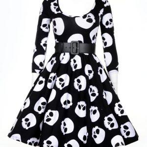vestidos de calaveras
