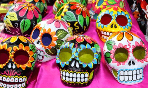 máscaras-calaveras-mexicanas