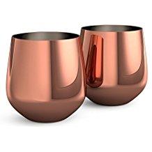 Vasos de cobre