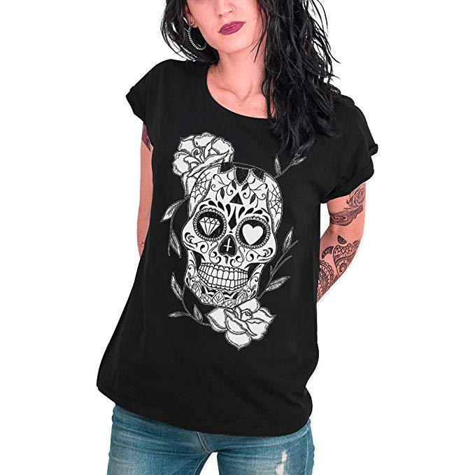 camiseta calavera mexicana primark